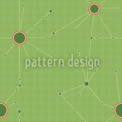 Koperniko Verde Repeating Pattern