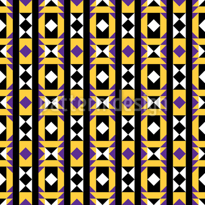 Geometry Latin Pattern Design
