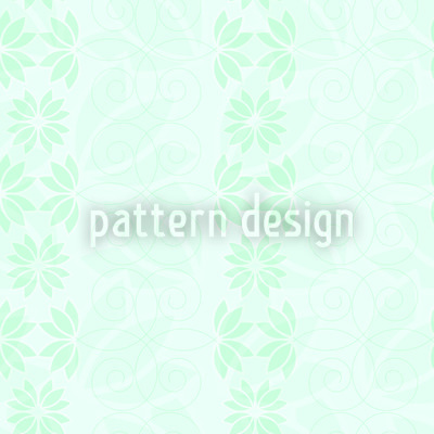 The Silence Of A Floral Heaven Pattern Design