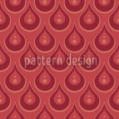 Ruby Rain Pattern Design