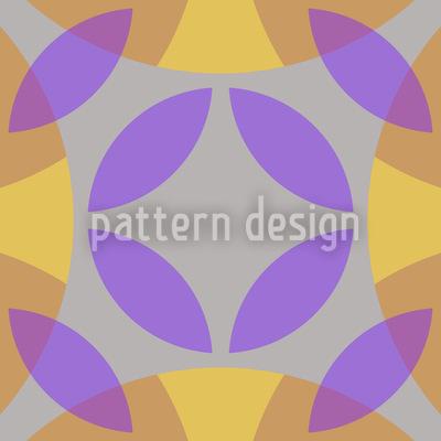 Im Zentrum Des Zirkels Muster Design