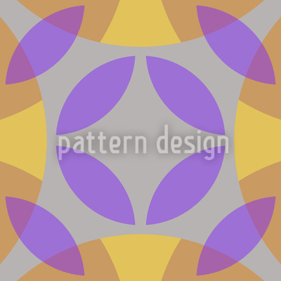 In The Centre Of The Circle Pattern Design