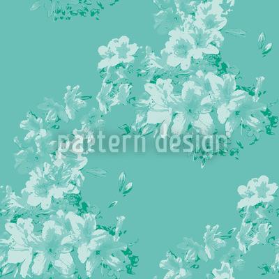 Flora Antique Minze Designmuster