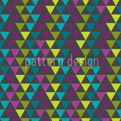 Die Matrix Der Triangel Vektor Muster