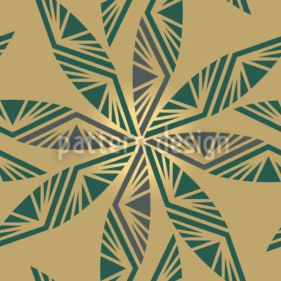 Strahlende Blätter Vektor Design