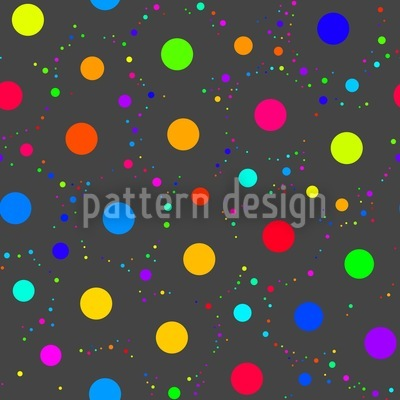 Space Baby Bubble Repeating Pattern