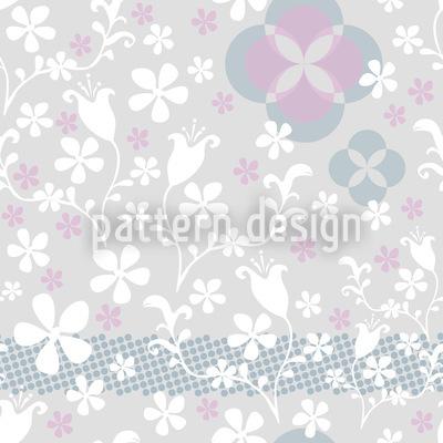 Floras Märchenreich Nahtloses Muster