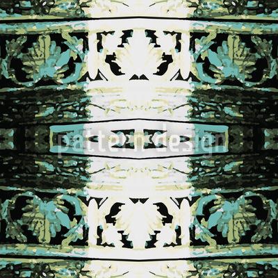 Am Ende Des Blätterlabyriths Muster Design