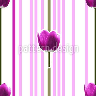 Pink Tulip Vector Design