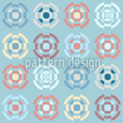 Kreisel In Pastell Muster Design