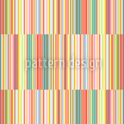 Multicolor Offset Stripes  Repeat Pattern