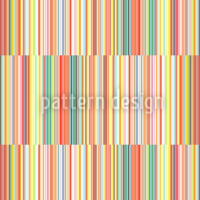 Multicolor Streifen Versetzt Rapportmuster