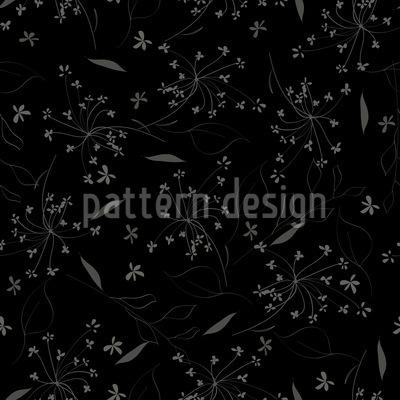 Floraler Regen Nahtloses Muster