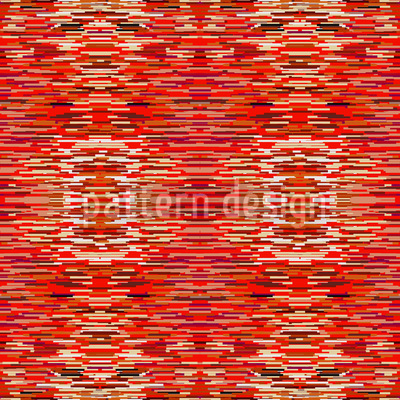 Fibrilation In The Red Saloon Seamless Pattern
