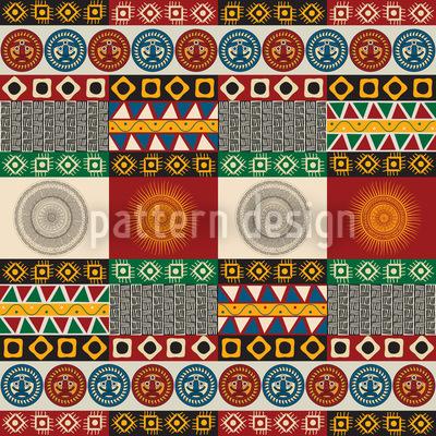 Maya Mix Vector Ornament