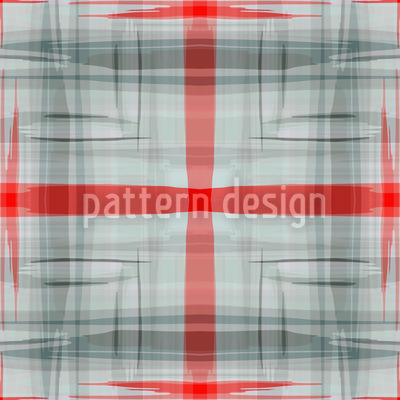 Rote Kreuzung Nahtloses Muster
