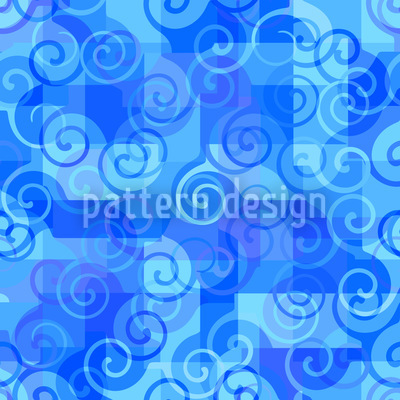 At The Sea Pattern Design