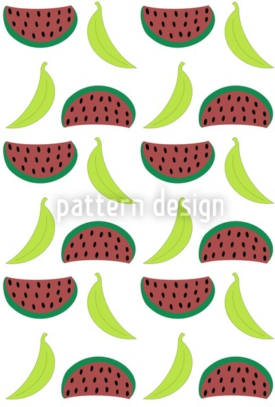 Bella Banana Meets Manni Melon Tomorrow Vector Design