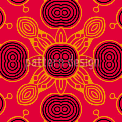 The Sunkings Game Seamless Pattern