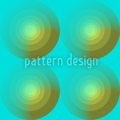 Summer Fresh Circles Pattern Design