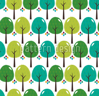 The Forests Of El Bosque Repeat Pattern