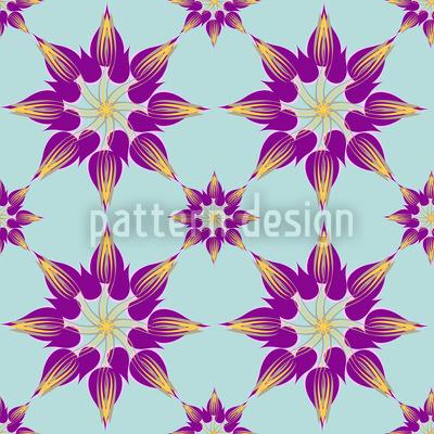 Splendor Tulips Magenta Design Pattern