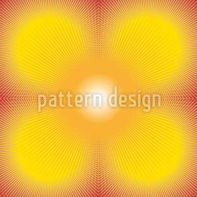 Sun Burst Repeat Pattern
