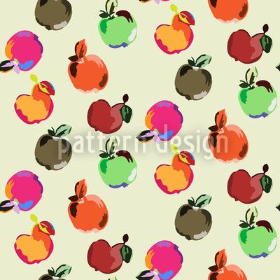 Äpfel Musterdesign