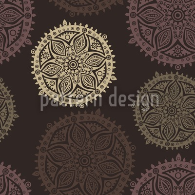 Pop Up Mandala Vector Pattern