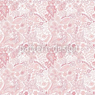 Evas Garten Nahtloses Muster