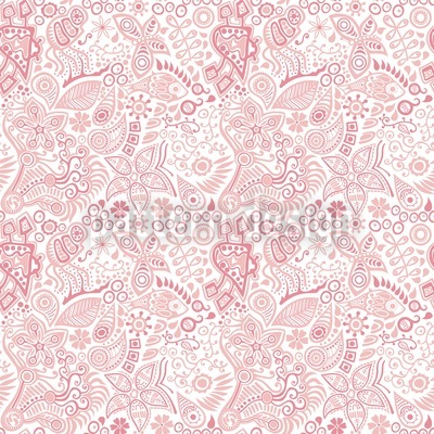 The Garden Of Eve Seamless Pattern