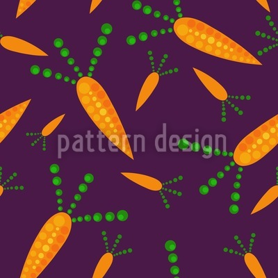 Perky Carrot Repeat Pattern