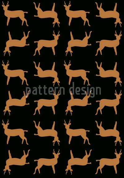 Deer Crossing Pattern Design