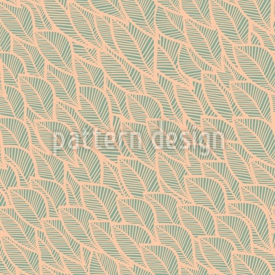 Rustling Foliage Vector Ornament