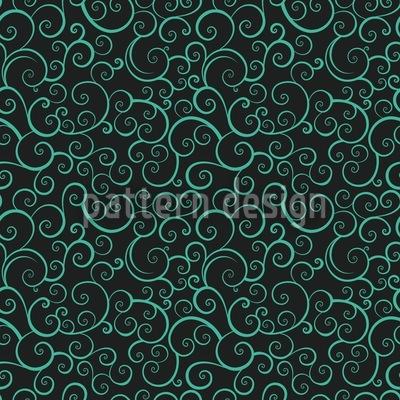 Aquatic Love Vector Pattern
