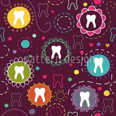 Die Zahnfee Rapportiertes Design