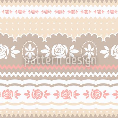 Little Rosy Soft Pattern Design