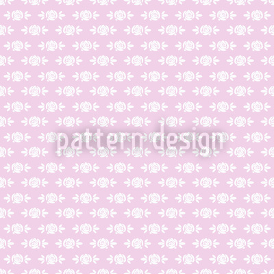 Sleeping Roses Baby Seamless Pattern