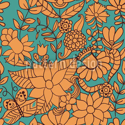 Gardens Of Saint Petersburg Pattern Design