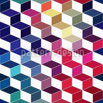 Dimension Der Gestapelten Quader Vektor Muster