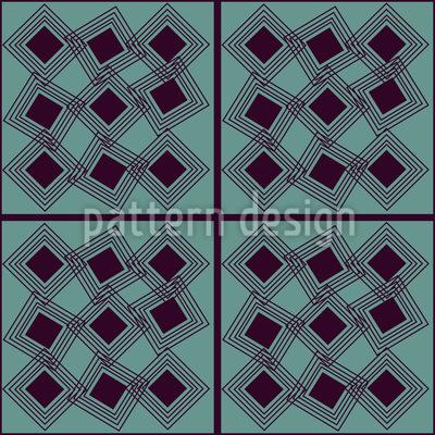 Quadrat Quadratur Muster Design