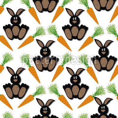 Bunny Bunny Vector Ornament