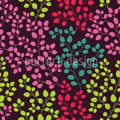 Leaf By Leaf Seamless Vector Pattern