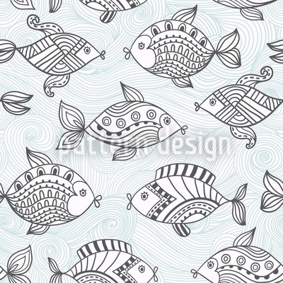 Fishpond Vector Design