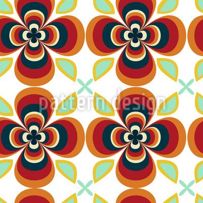 Flores De La Fantasia Muster Design
