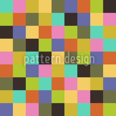 Eulatik To The Square Seamless Pattern