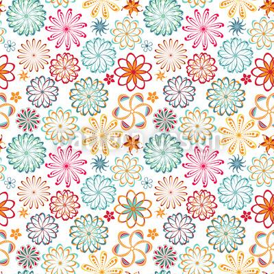 Mandala Floral Vector Pattern