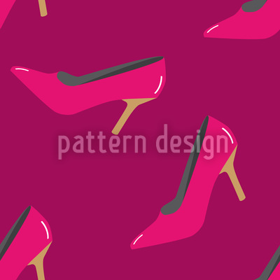 Hot Heels Vector Ornament