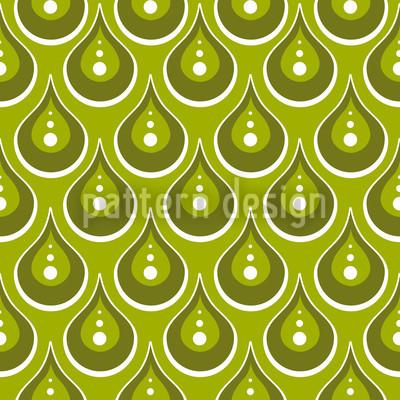 Jade Rain Repeat Pattern
