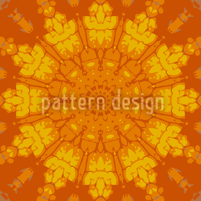 Gothic Sun Wheel Design Pattern